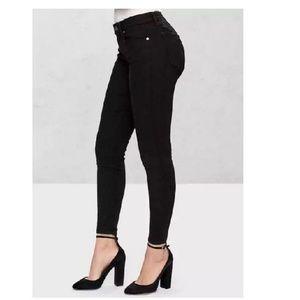 Gap Mid Rise Curvy True Skinny Jeans 27S Black 167
